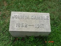 John M Gamble