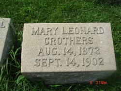 Mary Leonard Crothers
