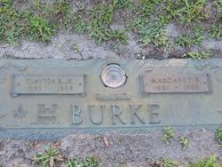 Marcaret E Burke