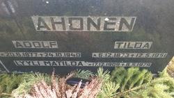 Lyyli Matilda Ahonen
