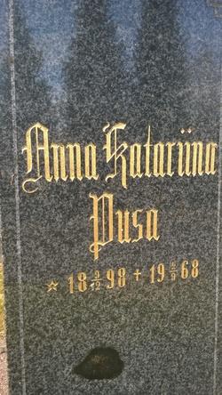 Anna Katariina Pusa