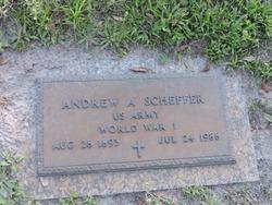 Andrew A Scheffer