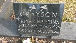 Aina Christina Grayson