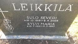 Sulo Severi Leikkilä
