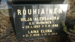 Hilja Aleksandra <I>Nurminen</I> Rouhiainen