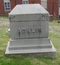 Frank R Acklin