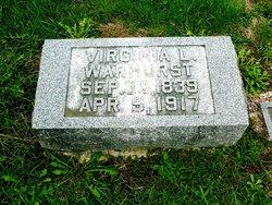 Virginia L. <I>Warhurst</I> Tillerson