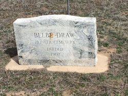 Beebe Draw Pioneer Cemetery