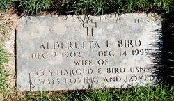 Alderetta L Bird