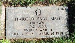 Harold Earl Bird