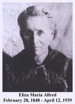 Eliza Maria <I>Allred</I> Munson