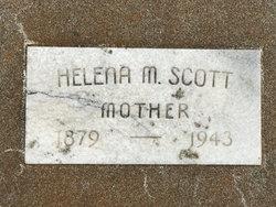 Helena Olivia <I>Marrs</I> Scott