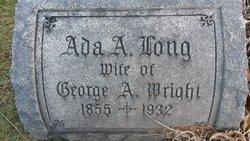 Ada A <I>Long</I> Wright