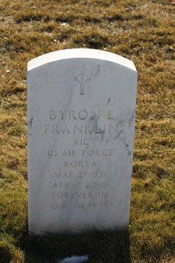 Byron E Franklin