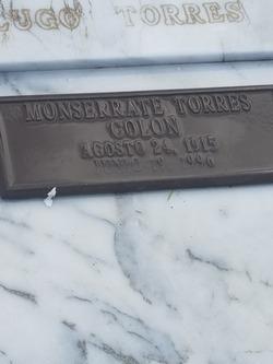 Monserrate Torres Colon