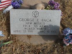 George E Baca