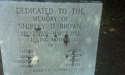 Shirley D Brown Cemetery