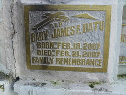 James F Datu