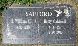 """Harold William """"Bill"""" Safford"""