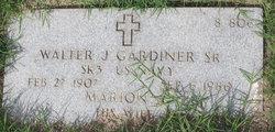 Walter J Gardiner, Sr