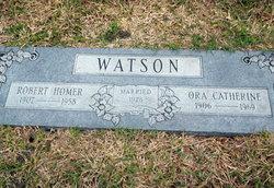 Ora Catherine <I>Burk</I> Watson