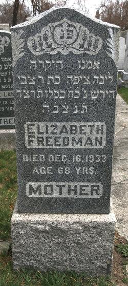 Elizabeth <I>Quint</I> Freedman