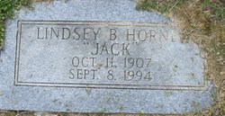 """Lindsey B. """"Jack"""" Horner"""