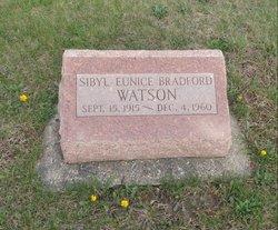 Sibyl Eunice <I>Bradford</I> Watson