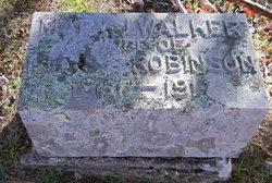 Mary J <I>Walker</I> Robinson