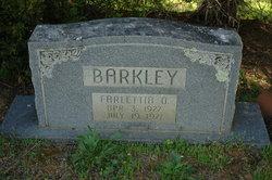 Farlettia Octavia Barkley