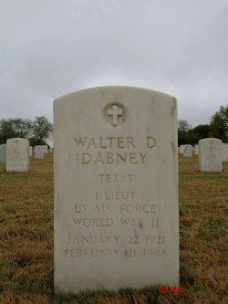 1LT Walter Davis Dabney, Jr