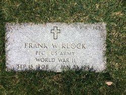 Frank W Klock