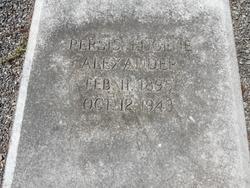 Persis Eugene Alexander, Sr