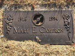 Mary E <I>McLoughlin</I> Cameron