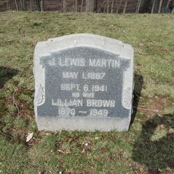 Lillian <I>Brown</I> Martin