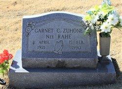 Garnet Cecelia <I>Rahe</I> Zuhone