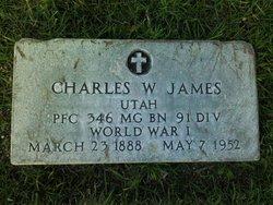 Charles William James