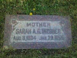 Sarah Ann <I>Gardiner</I> Webber