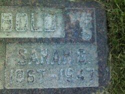 Sarah Caroline <I>Gerber</I> Newbold