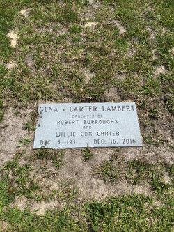 Gena V <I>Carter</I> Lambert