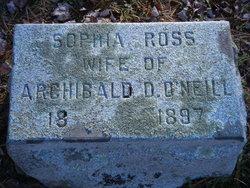 Sophie <I>Ross</I> O'Neill