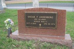Oscar F Anderberg