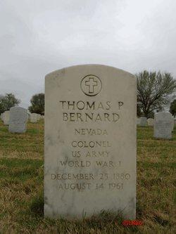Thomas P Bernard