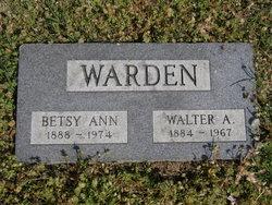 Betsy Ann <I>Jefferies</I> Warden