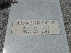 Joann <I>Ellis</I> Hickox