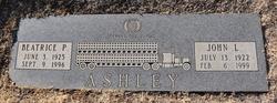 Beatrice Pearl <I>Smith</I> Ashley