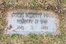 Myrtis Ozora <I>Midgett</I> Pugh