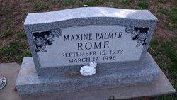 "Lila Maxine ""Maxine"" <I>Palmer</I> Rome"