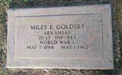 Miles Earley Goldsby