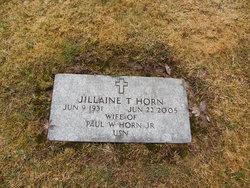 Jillaine <I>Tripp</I> Horn